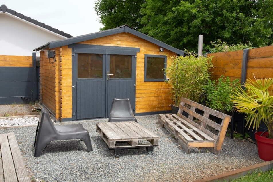 Shed converted to Tiny House