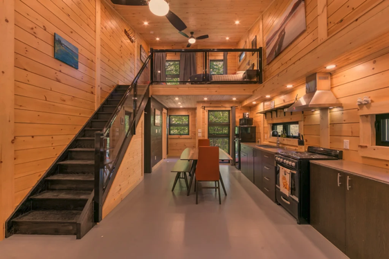 Living room / Kitchen of a tiny home