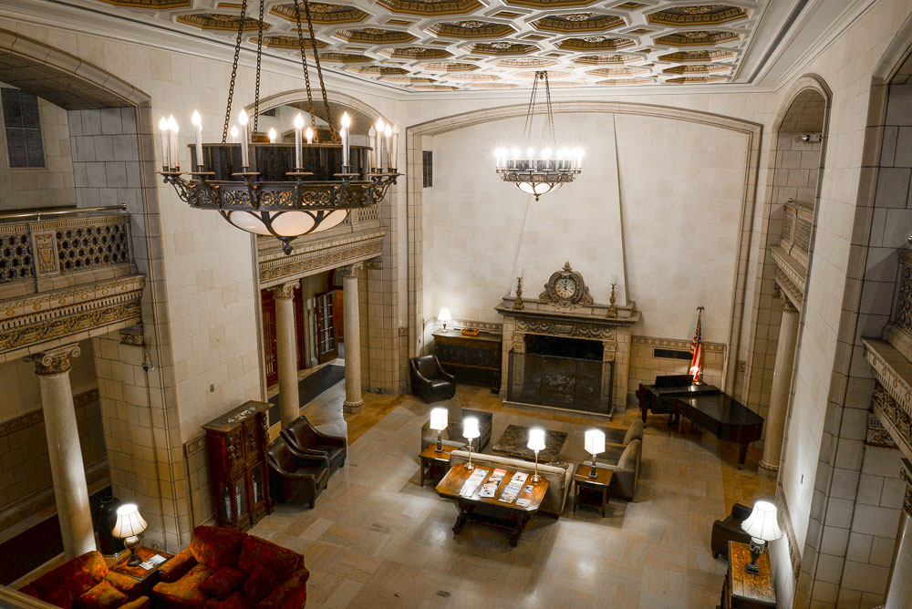 Saint Paul Athletic Club lobby
