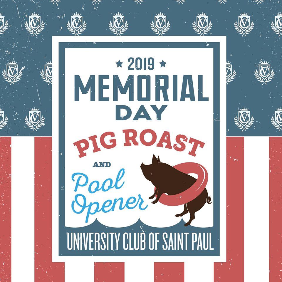 Memorial Day Pig Roast and Pool Opener
