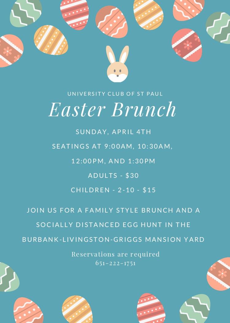 Easter Brunch and Egg Hunt