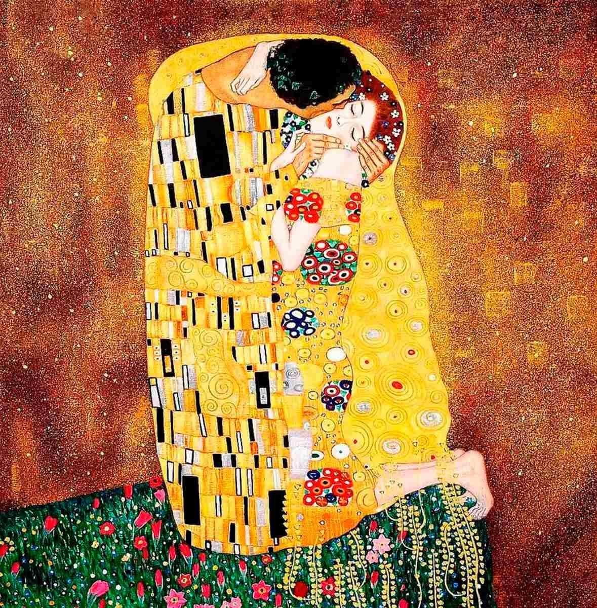 Significado De La Obra El Beso De Gustav Klimt Noesis