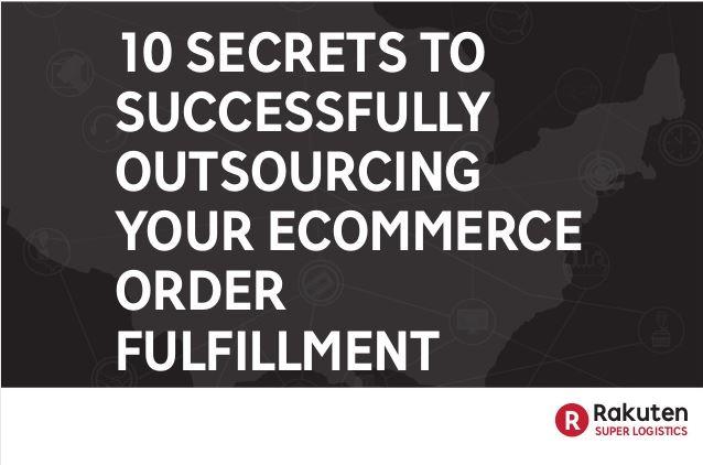 10 Secrets to Successful Fulfillment