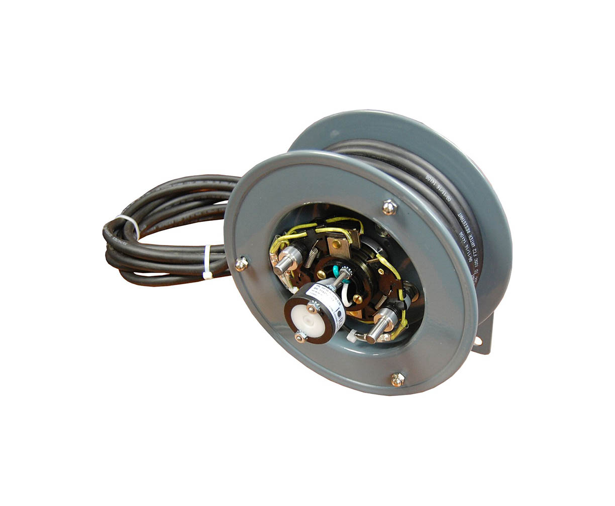 position sensing cable reel
