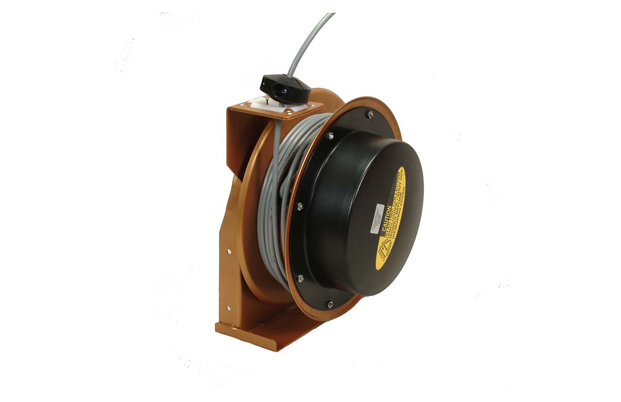Teach pendant cable reel