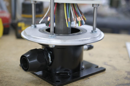 slip ring base bracket