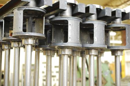 slip ring mounting tubes