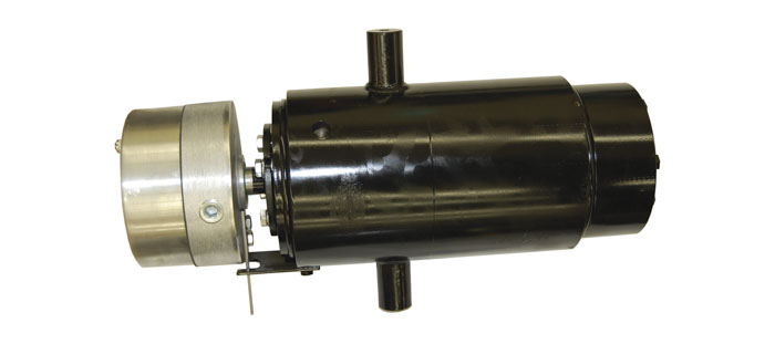 combined slip ring and rotary union