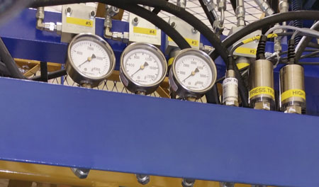 rotary union endurance testing