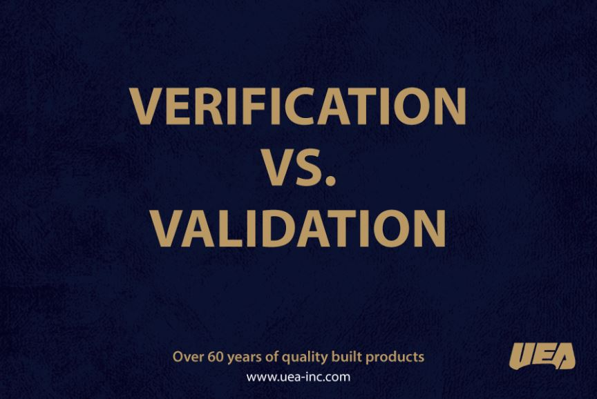 Verification vs Validation testing