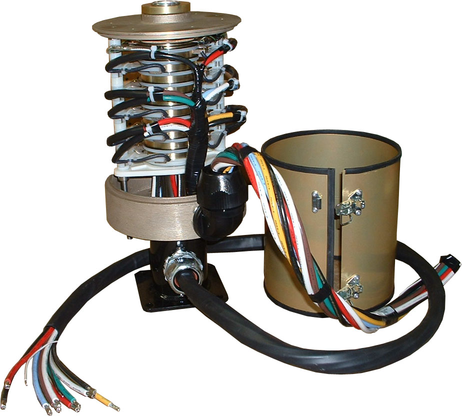 Slip ring with alodine protectant