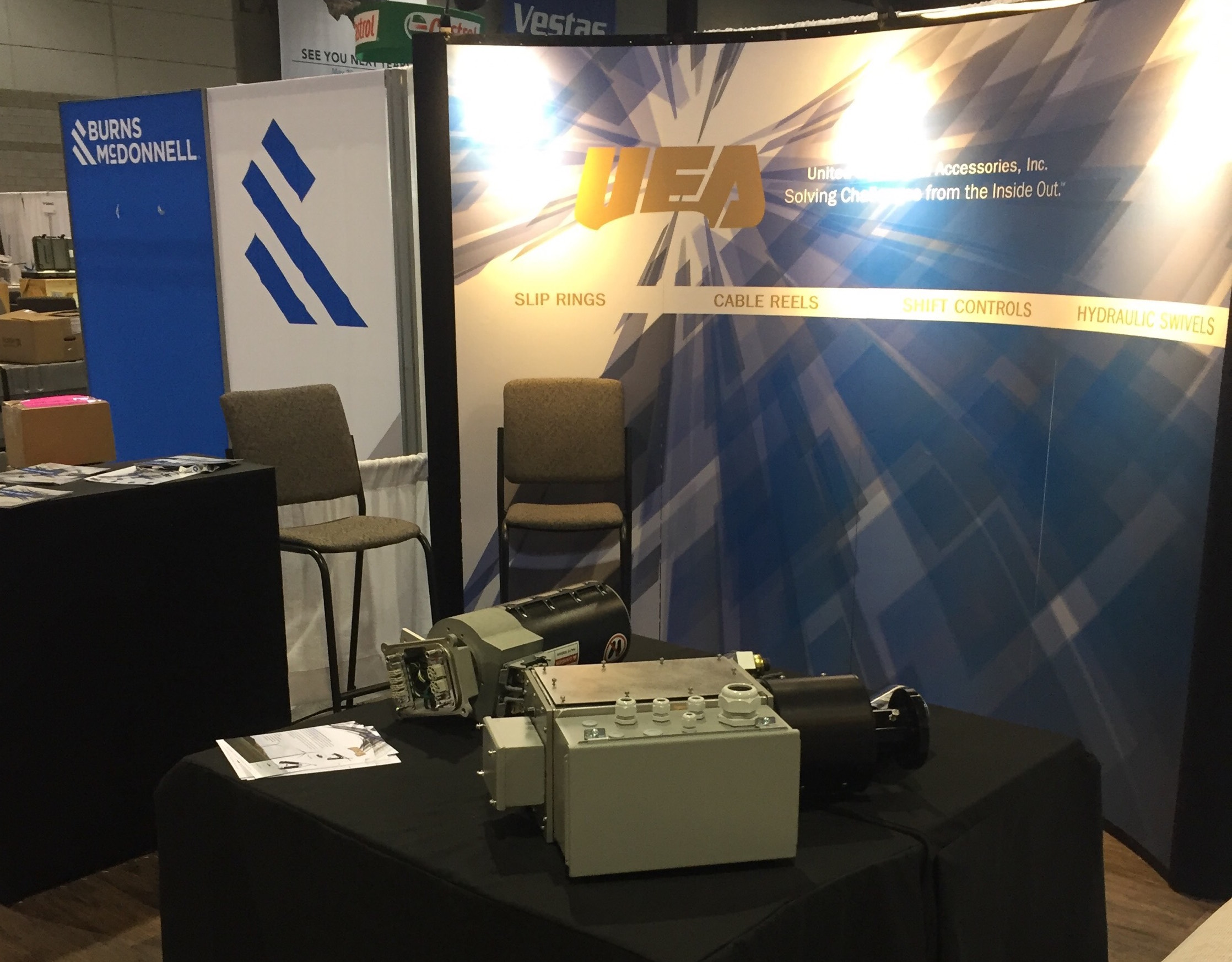 UEA Booth at 2018 AWEA Conference
