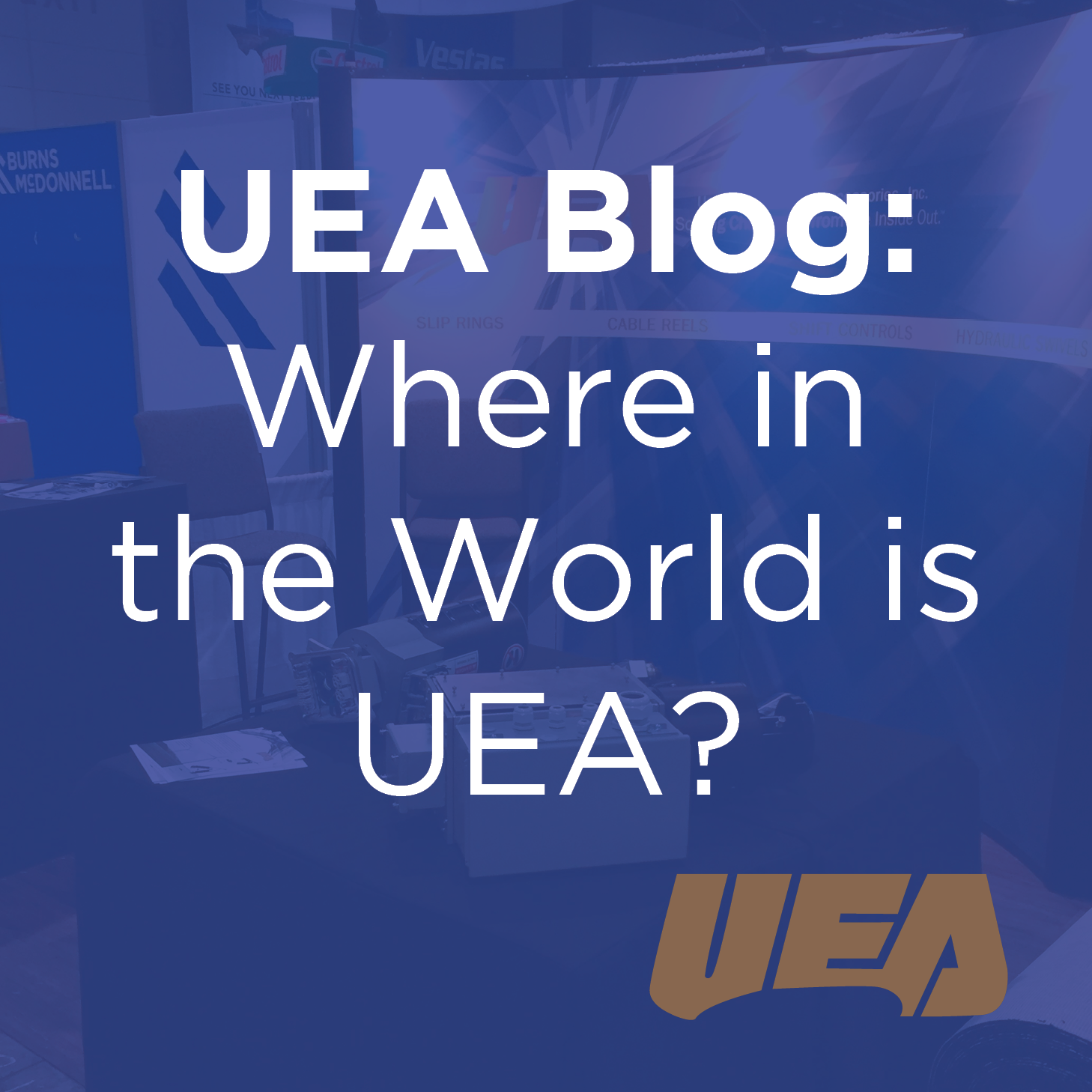 Upcoming UEA Wind and Sea Trade Shows