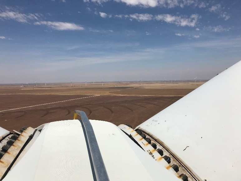 View from Wind Turbine