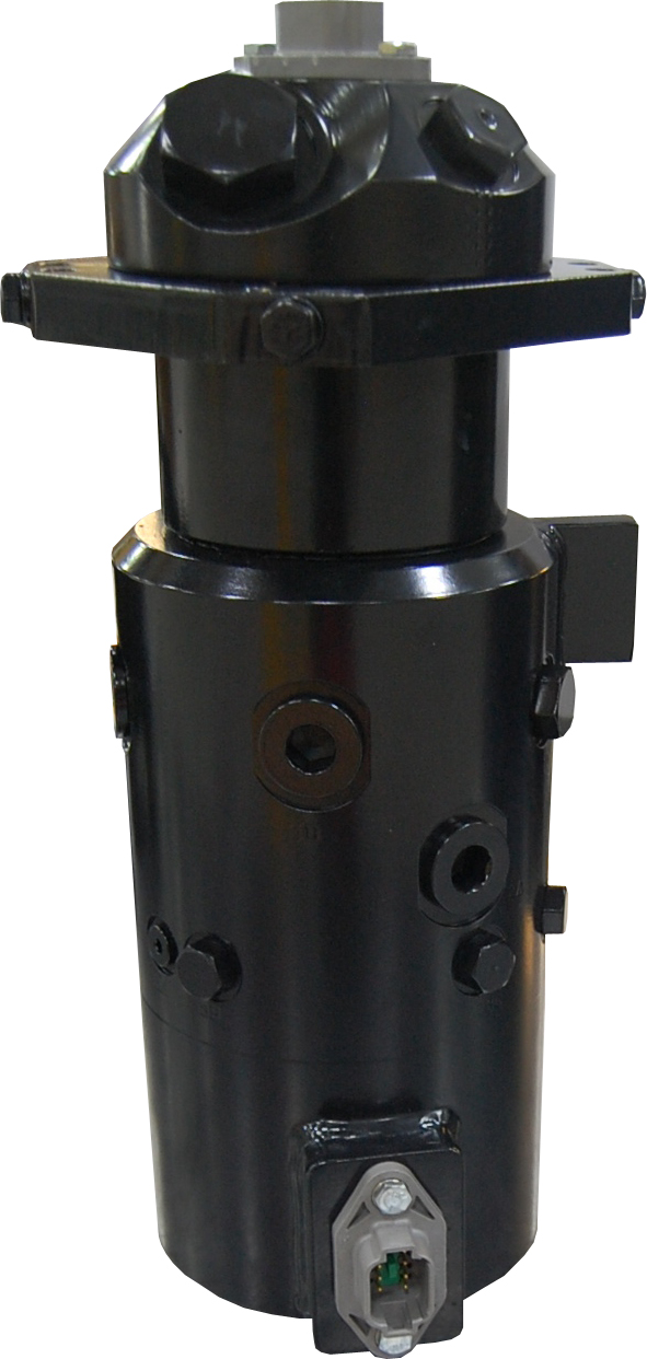 Fully Integrated Hydraulic Swivel and Slip Ring