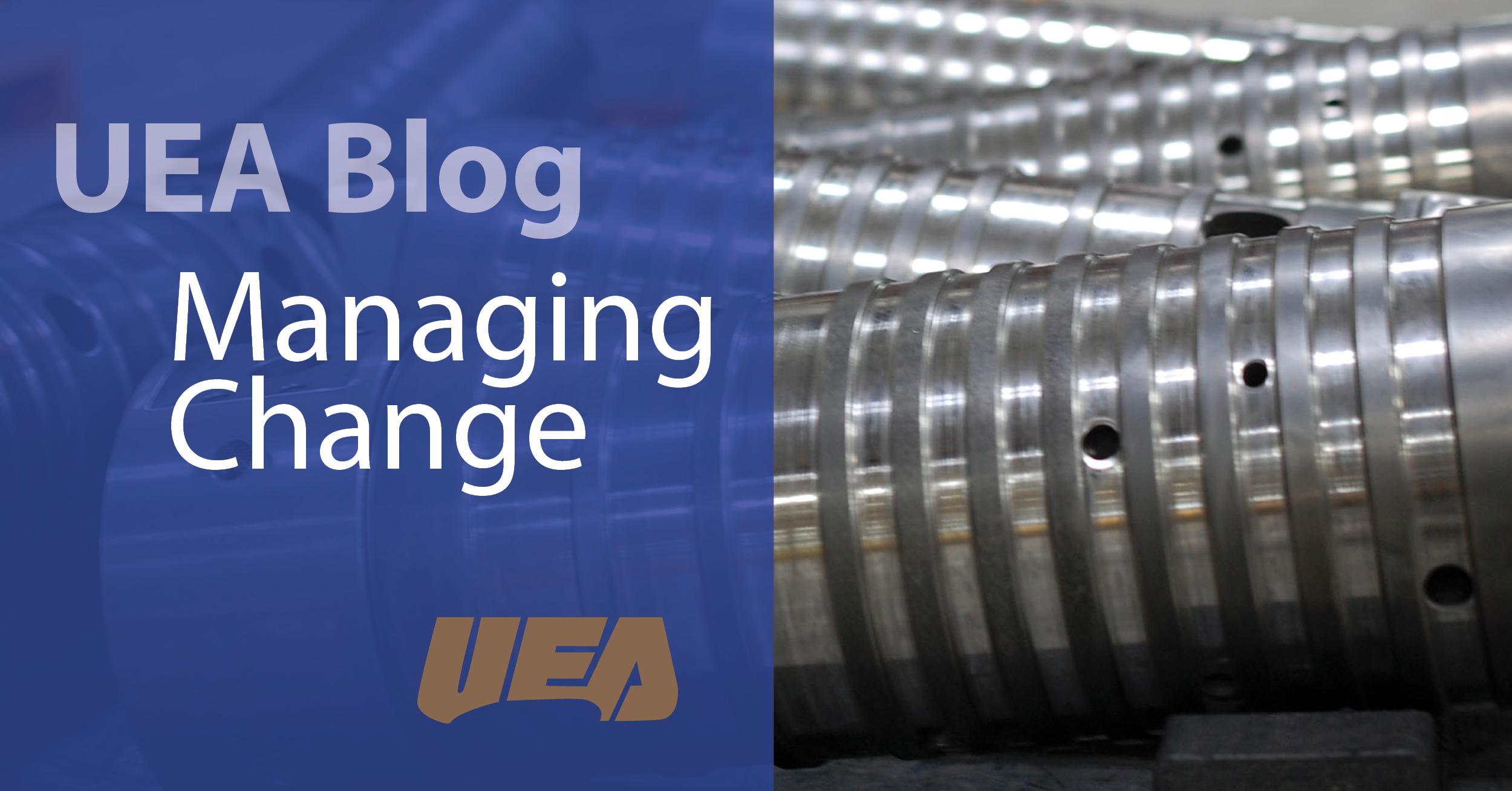 managing change manufacturing