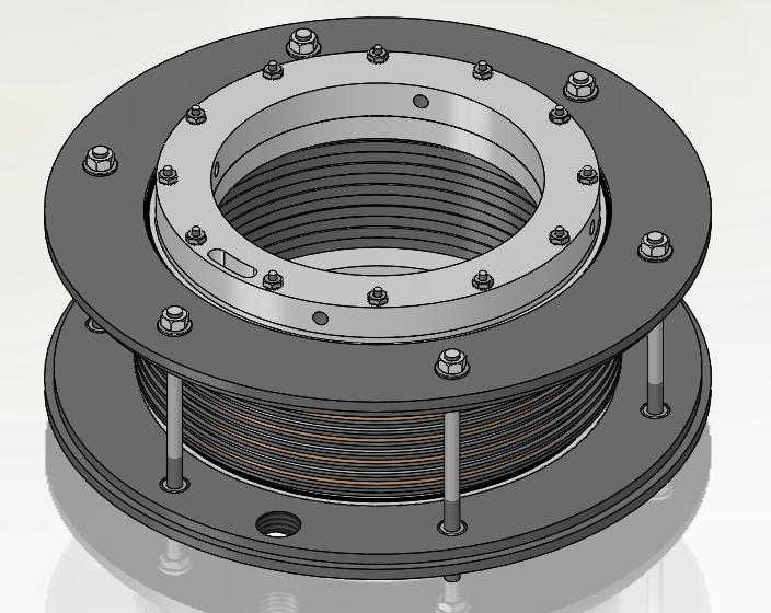slip ring with ball bearings
