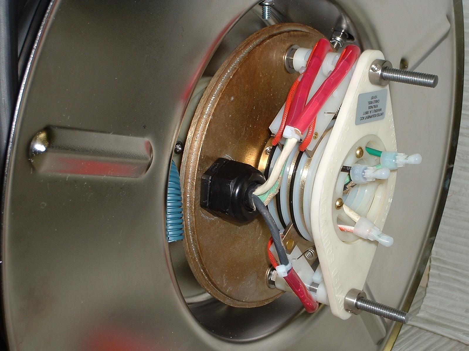 corrosion custom cable reels