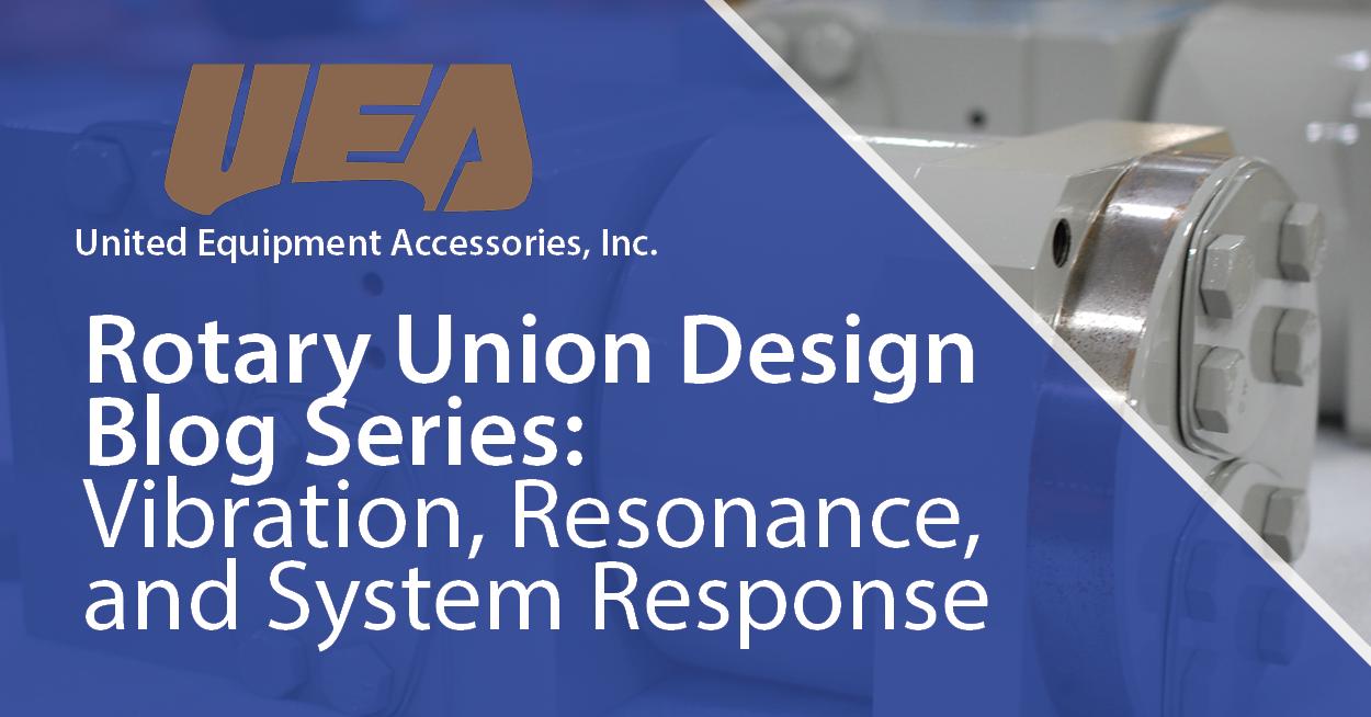 rotary union design vibration