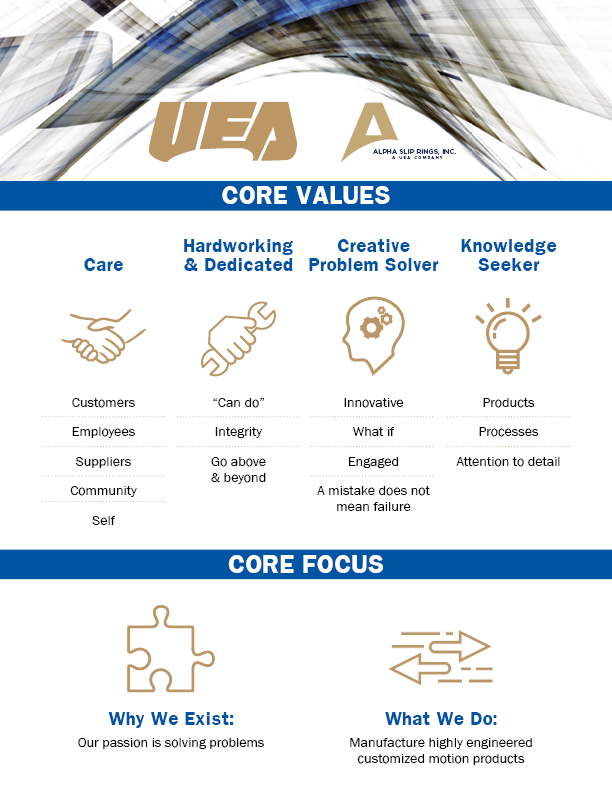 UEA Core Values