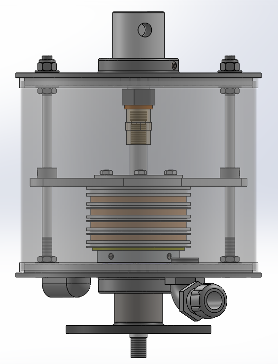 slip ring with air swivel