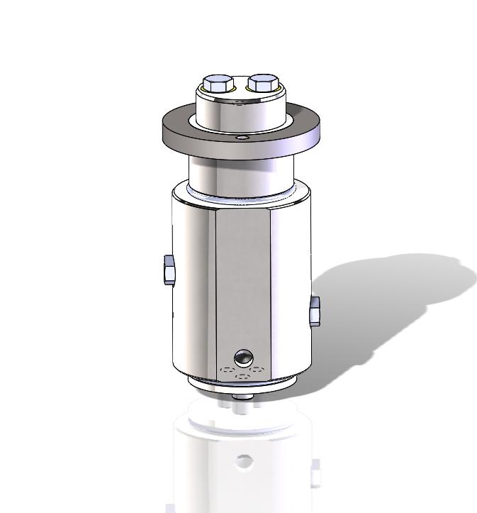 2 port hydraulic rotary union