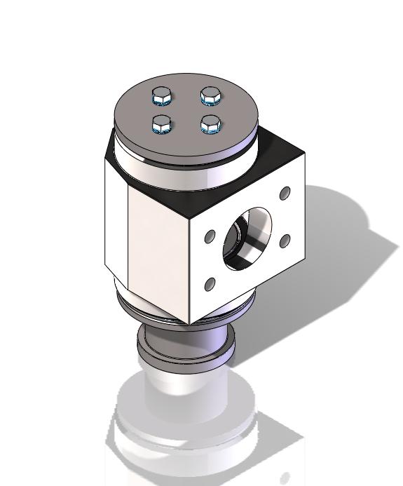 1 port hydraulic rotary union