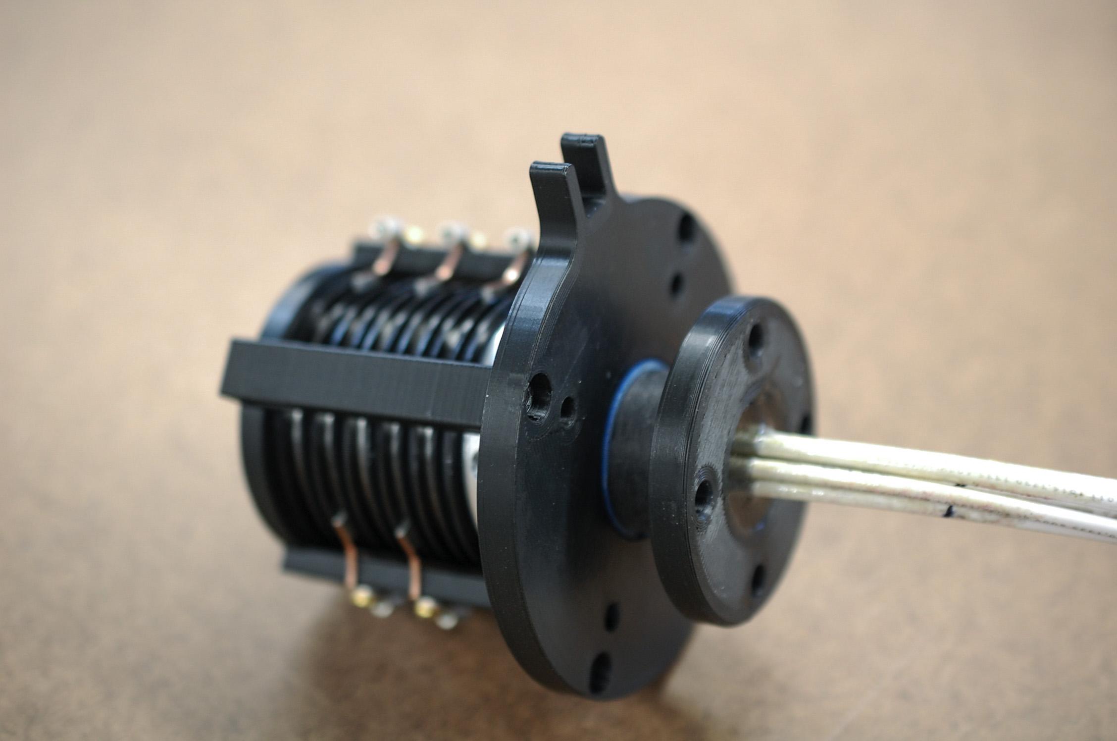 3D Printed Mounting Slip Ring