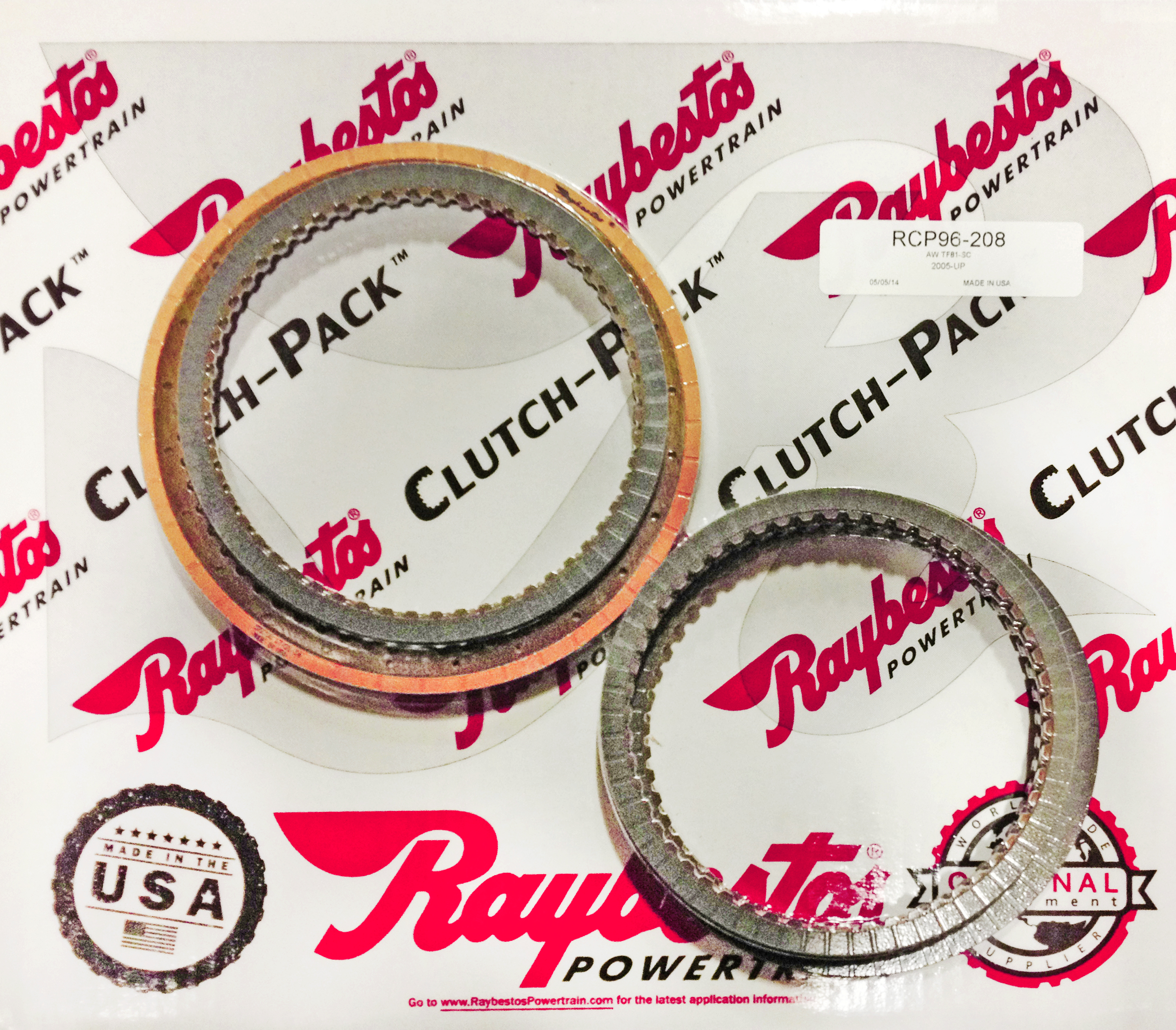 TF81SC Friction Clutch Pack