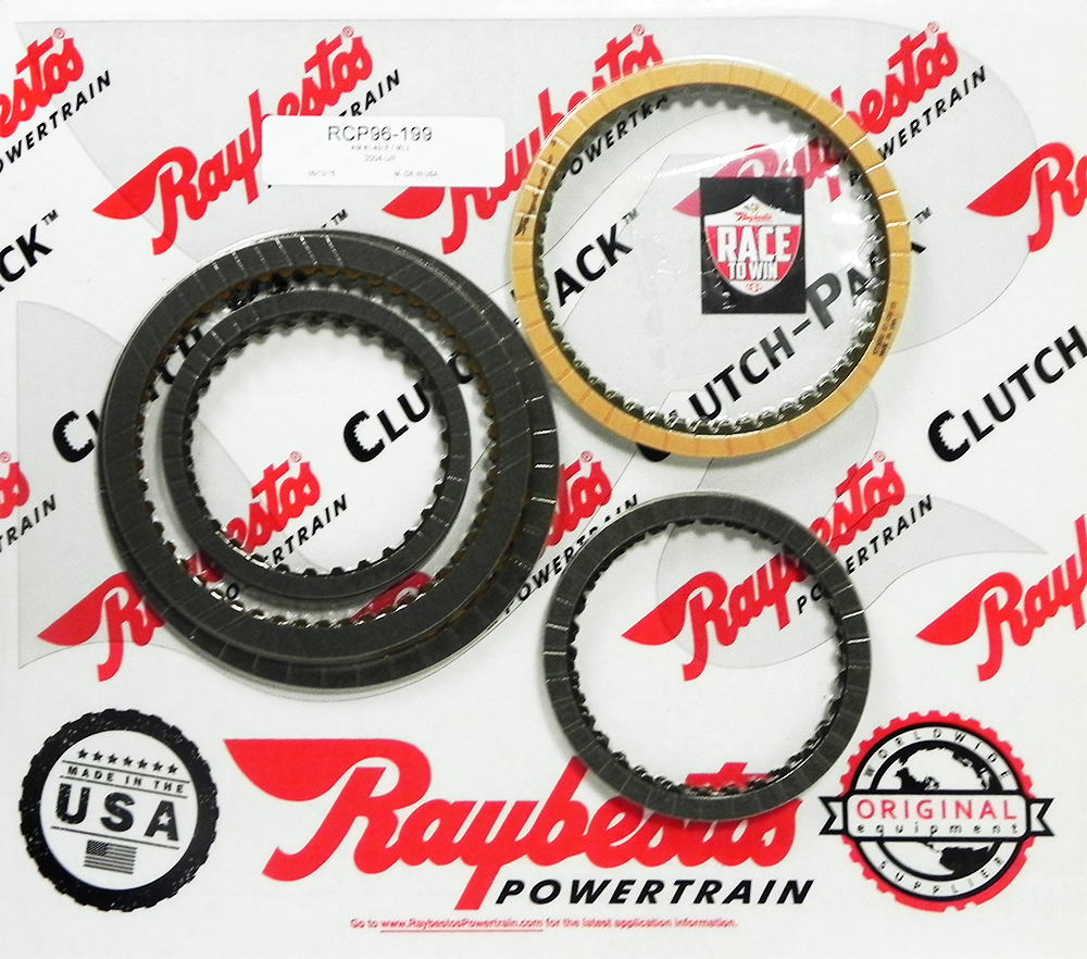 AW80-40LE (U440E), AW81-40LE (U441E), AW80-40LS Friction Clutch Pack