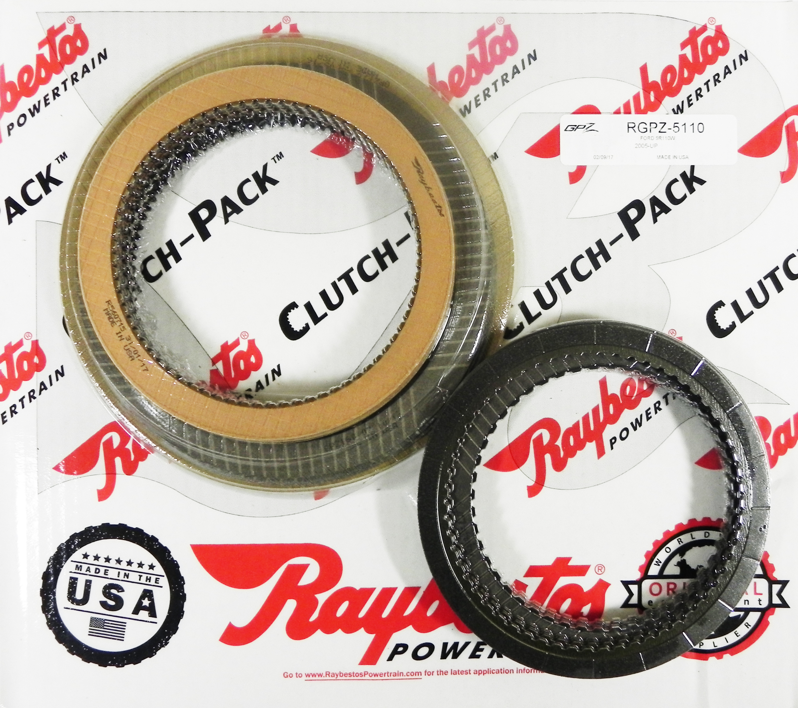 5R110W TorqShift GPZ & Stage-1™ Friction Clutch Pack