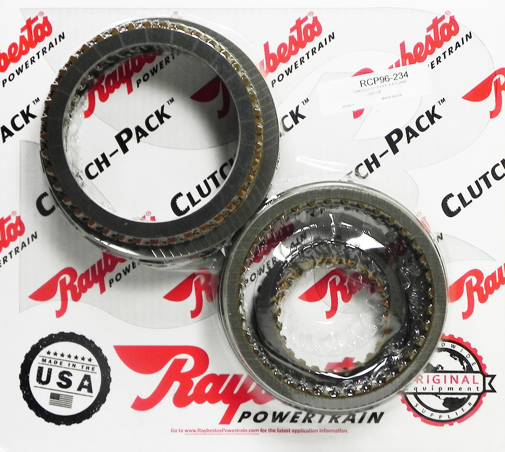 722.6 (96-ON), NAG1 (W5A380) (04-ON) Friction Clutch Pack