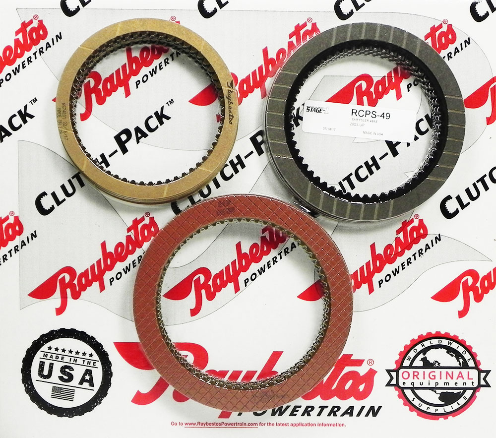 48RE Stage-1 Friction Clutch Pack
