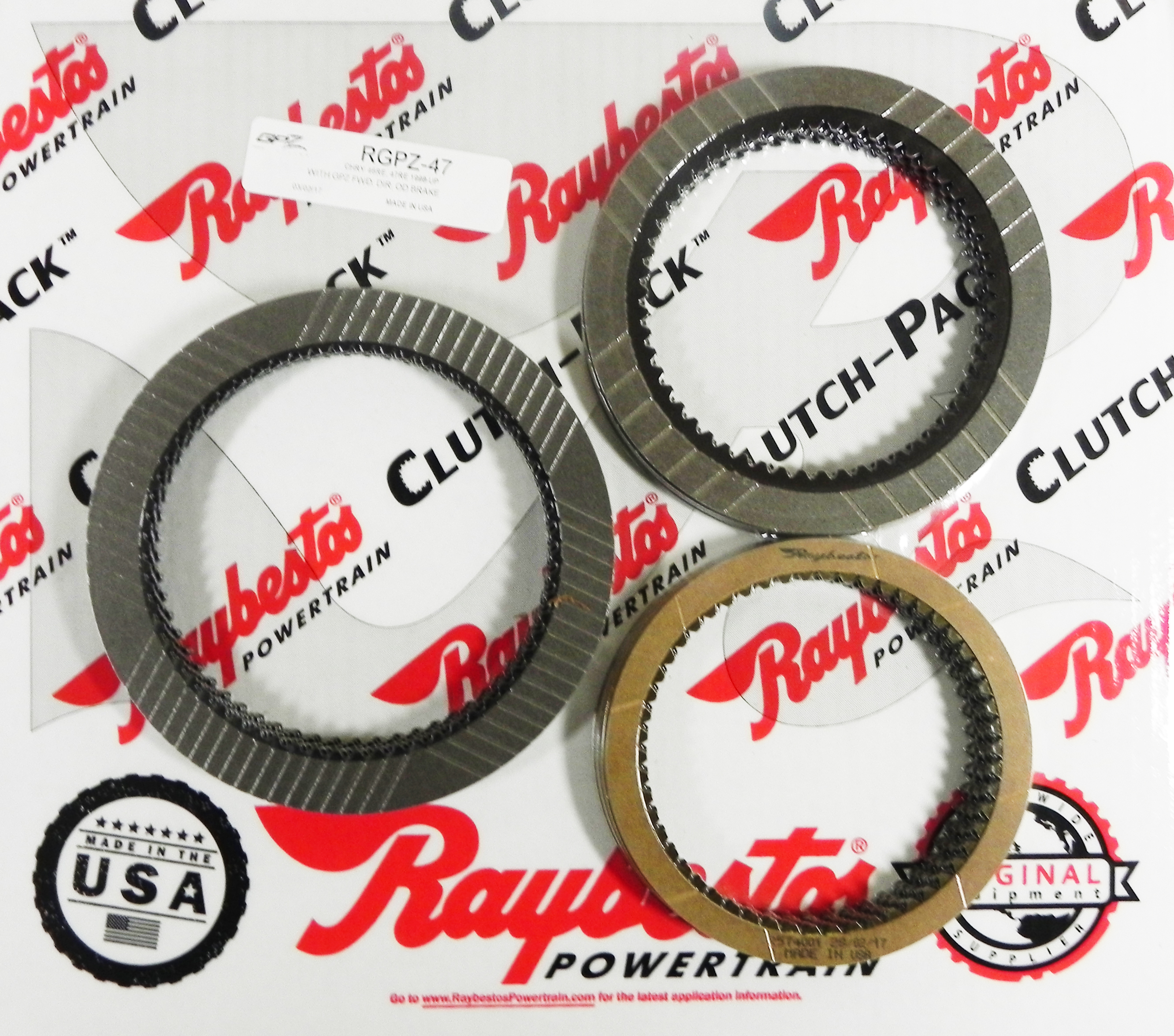 46RE, 47RE GPZ Friction Clutch Pack