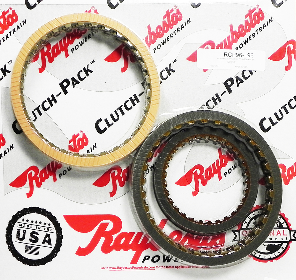 6R60, 6R75, 6R80 Friction Clutch Pack