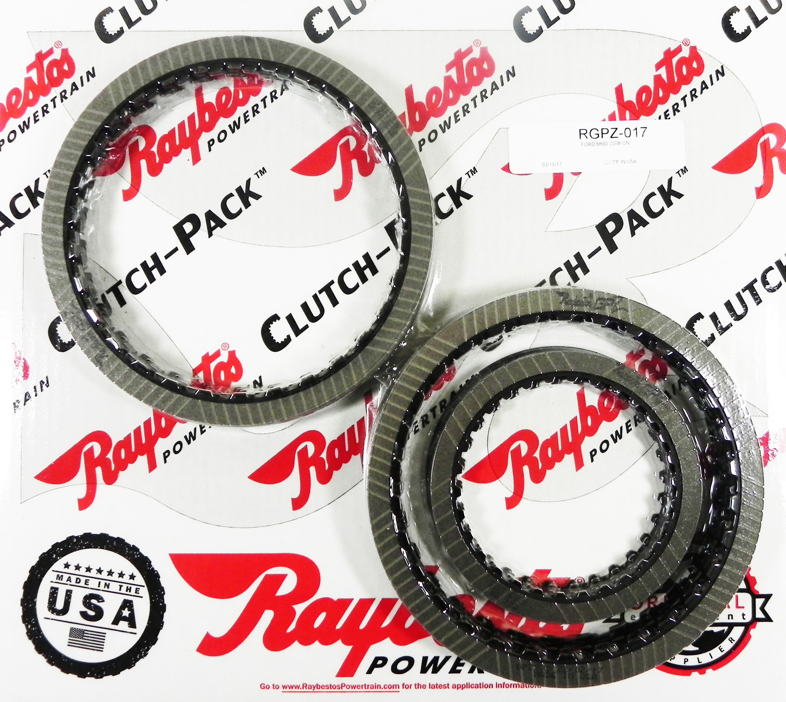 RGPZ-017 | 2008-ON GPZ Friction Clutch Pack Module