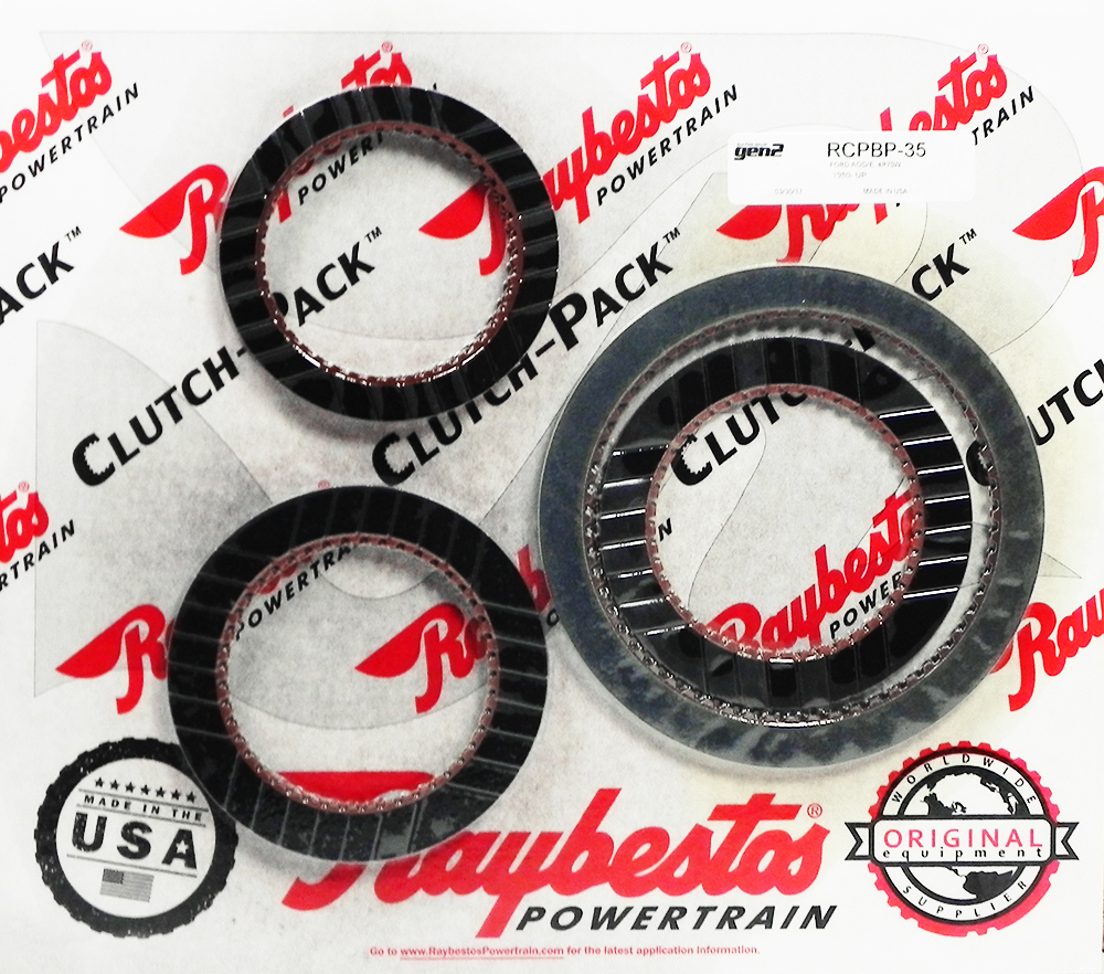 AODE, 4R70W GEN 2 Blue Friction Clutch Pack