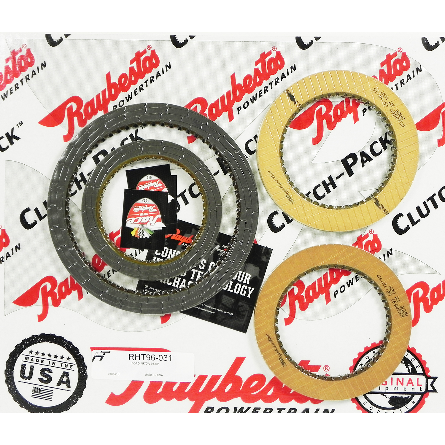 4R70W HT Friction Clutch Pack