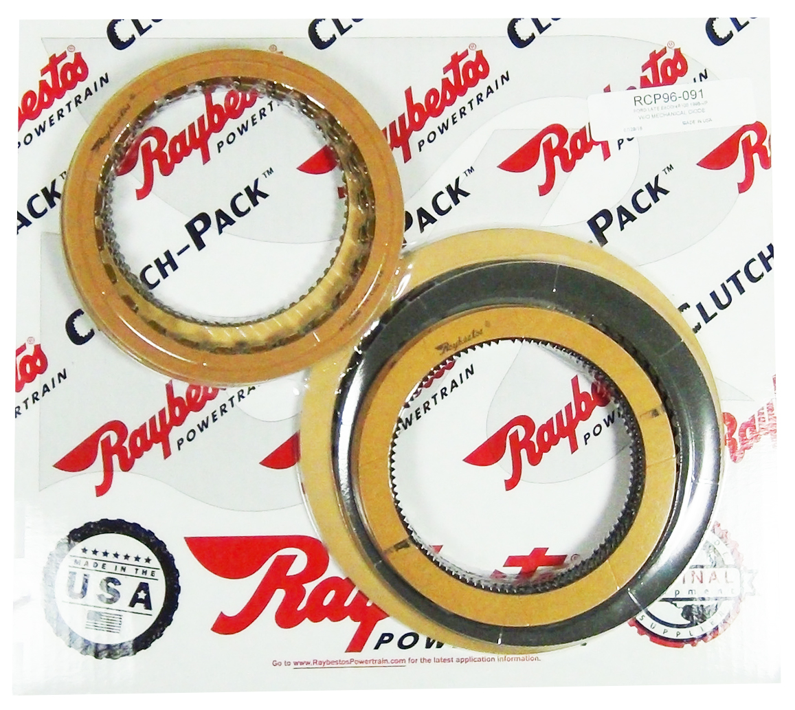 E4OD, 4R100 Friction Clutch Pack