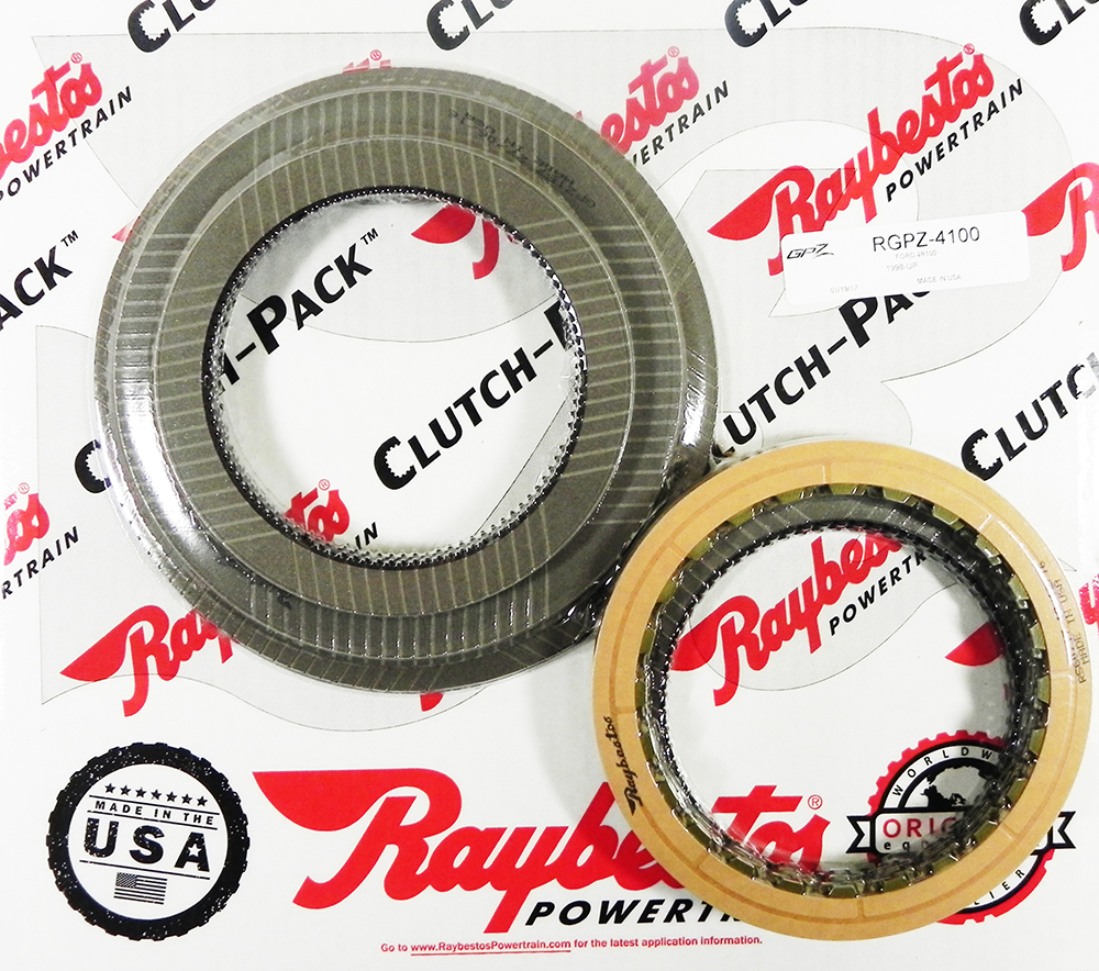 4R100 GPZ Friction Clutch Pack
