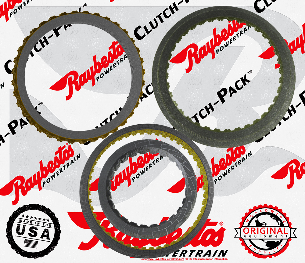 6F50 Friction Clutch Pack