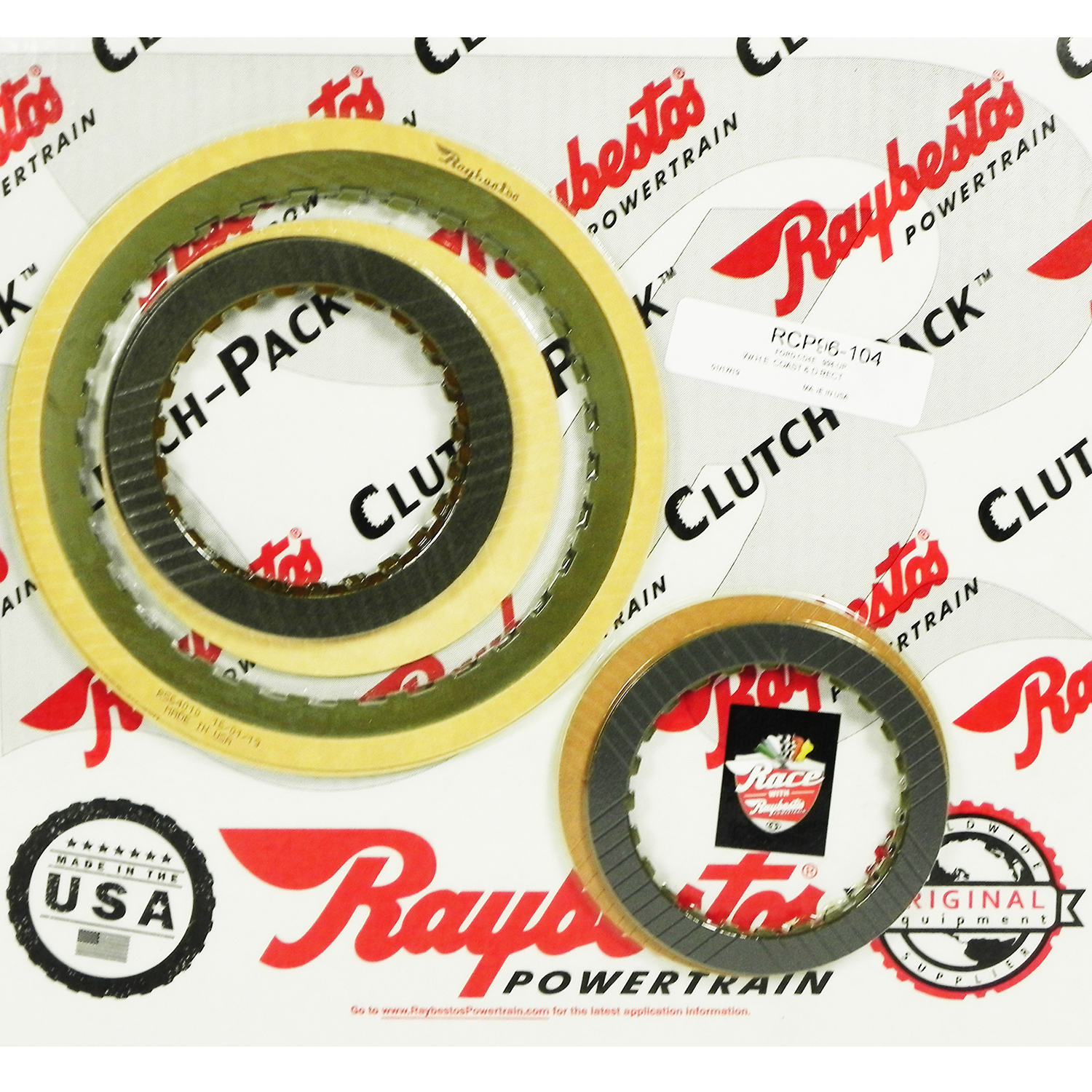 CD4E Friction Clutch Pack