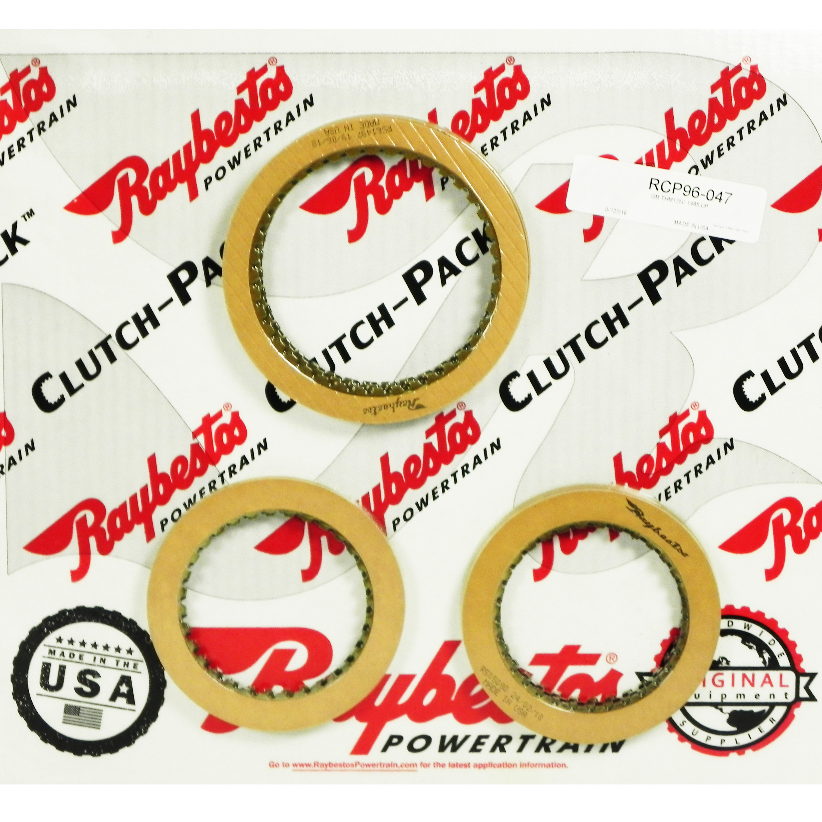 TH125C Friction Clutch Pack