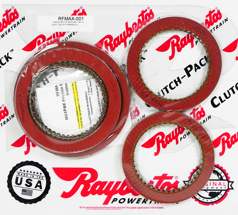 4L80E Stage-1 MaxPak Friction Clutch Pack