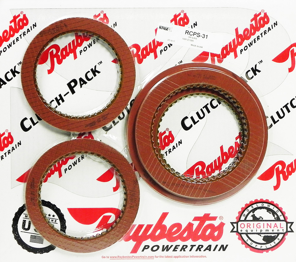 4L80E Stage-1 Friction Clutch Pack