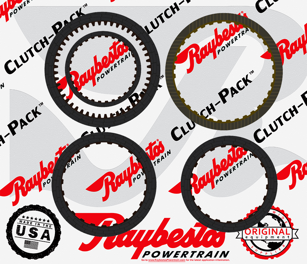 8L90  HT Friction Clutch Pack