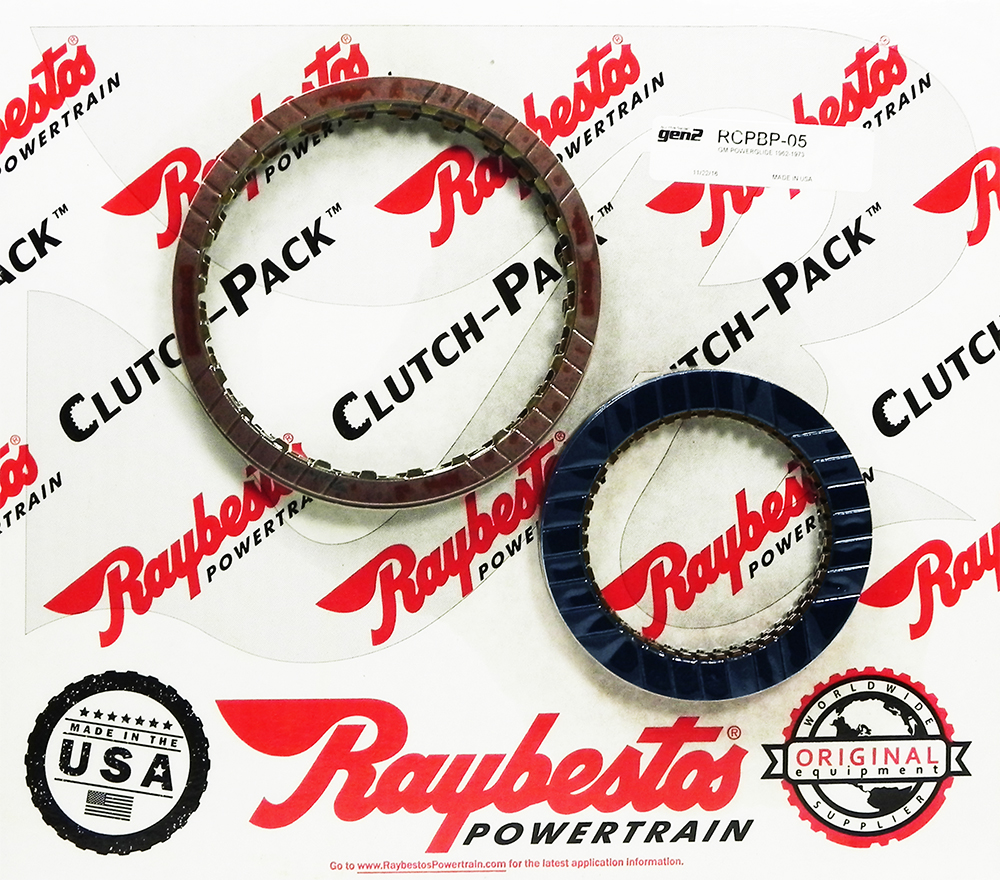POWERGLIDE GEN 2 Blue Friction Clutch Pack