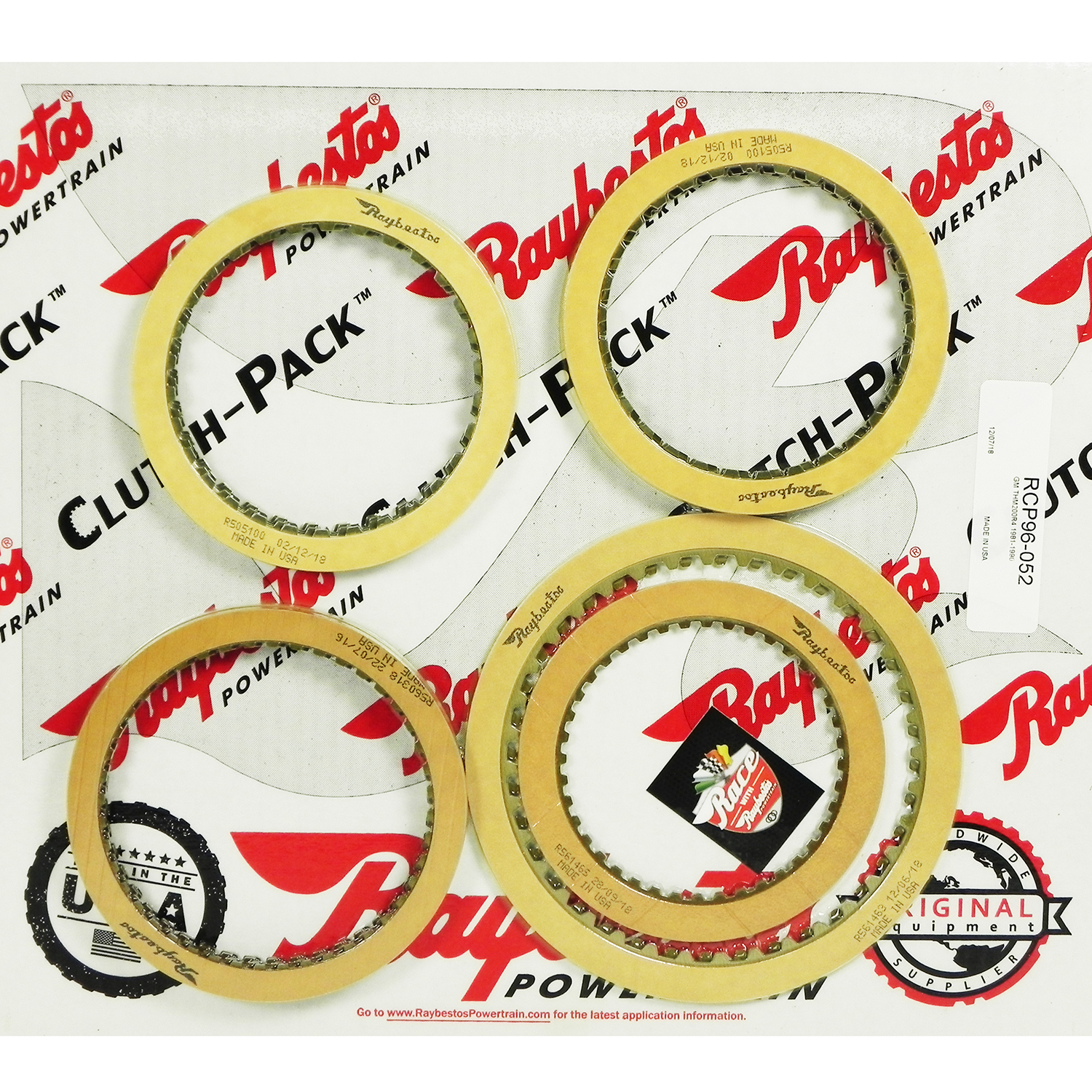 TH200-4R, TH325, TH325-4L Friction Clutch Pack