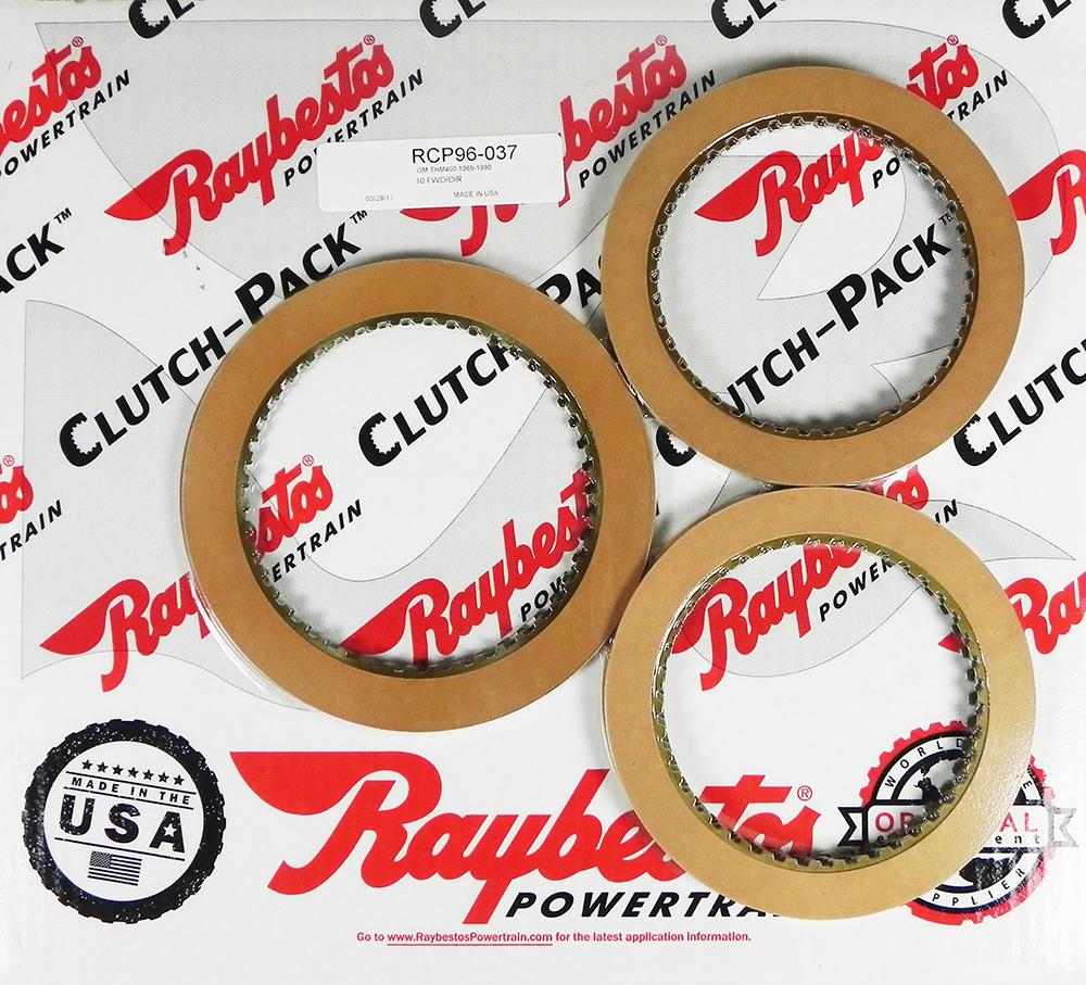 TH400 Friction Clutch Pack
