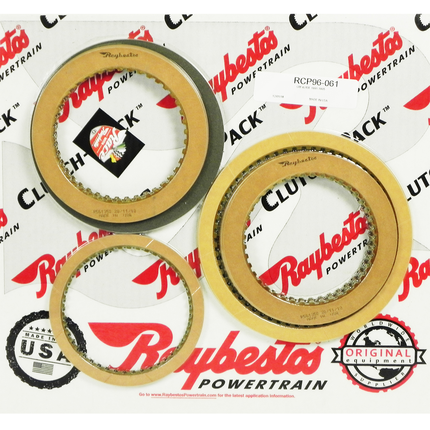 4L80E Friction Clutch Pack